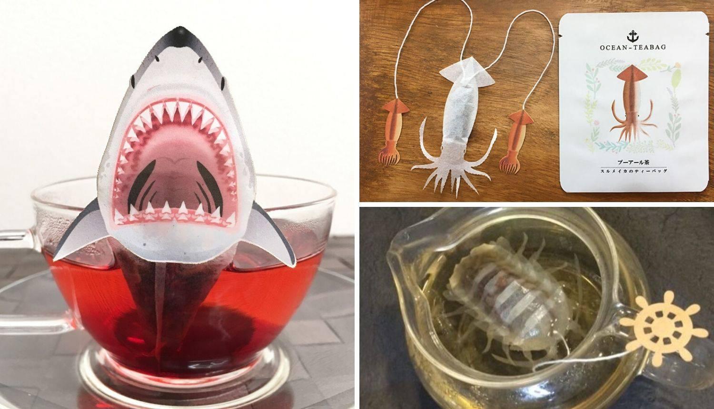Prodaju čaj u obliku morskih stvorenja koja 'ožive' u šalici