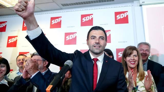 Prema prvim neslužbenim rezultatima SDP osvojio 4 mandata