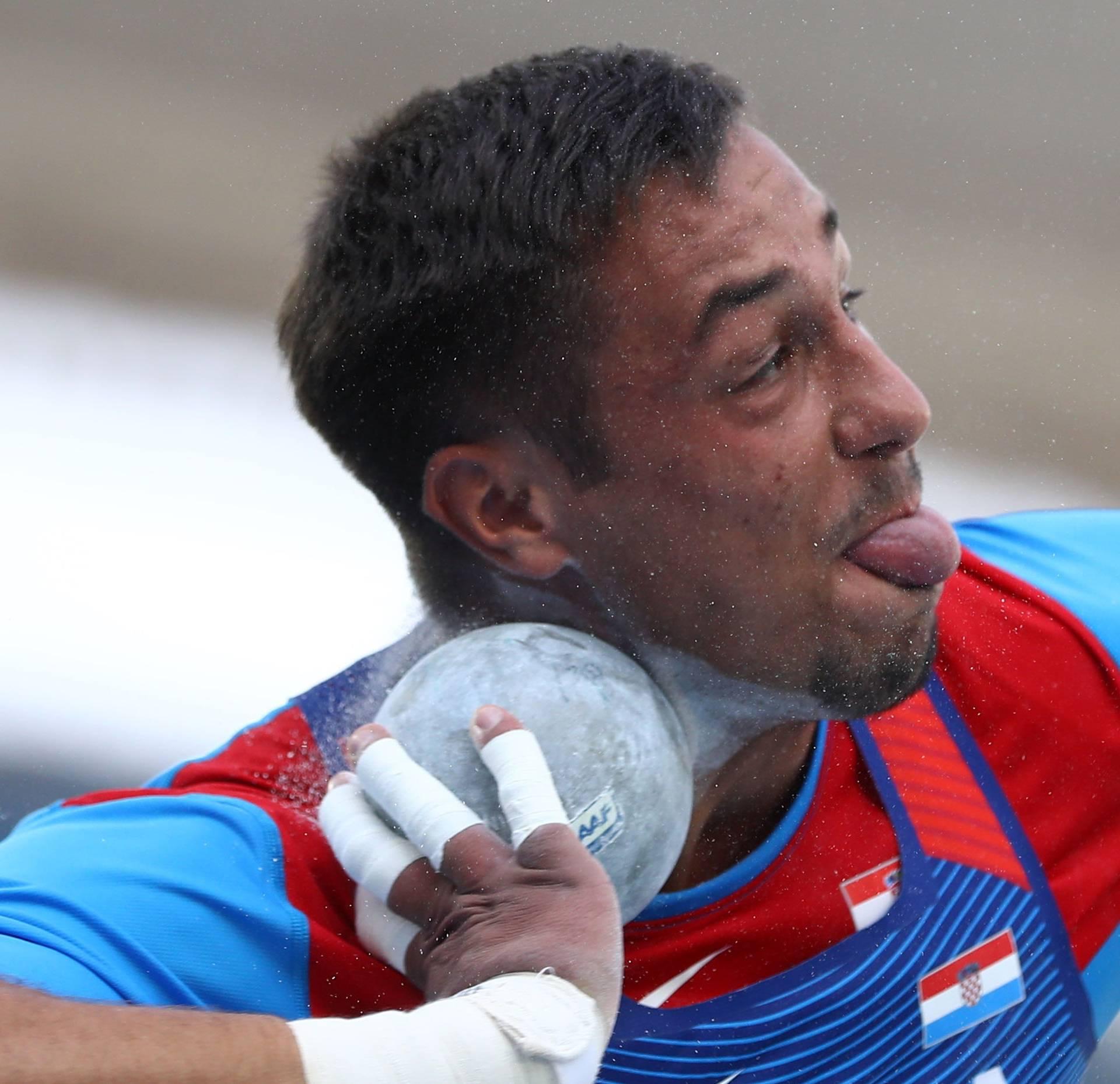 Athletics - Men's Shot Put Qualifying Round - Group B