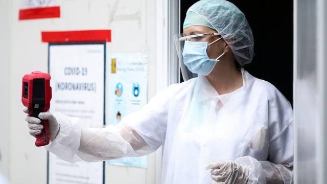 Sarajevo: Trijaža pacijenata koji ulaze u Dom zdravlja
