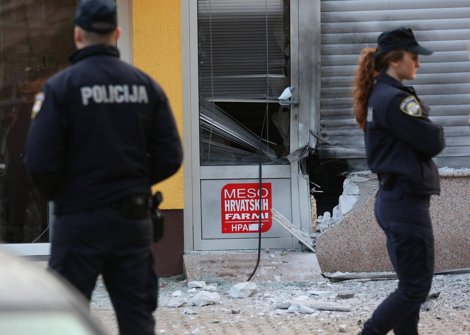 Eksplozija u Zagrebu: Grunulo na tržnici, policija ne zna što je