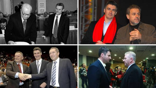 Od Račana do Bere: I Bandić i Dragan Kovačević htjeli su biti šefovi SDP-a, ali Zoki je bio jači