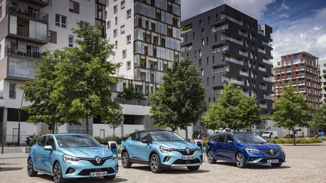 Renault napada strujom: Stižu hibridni Clio, Captur i Megane