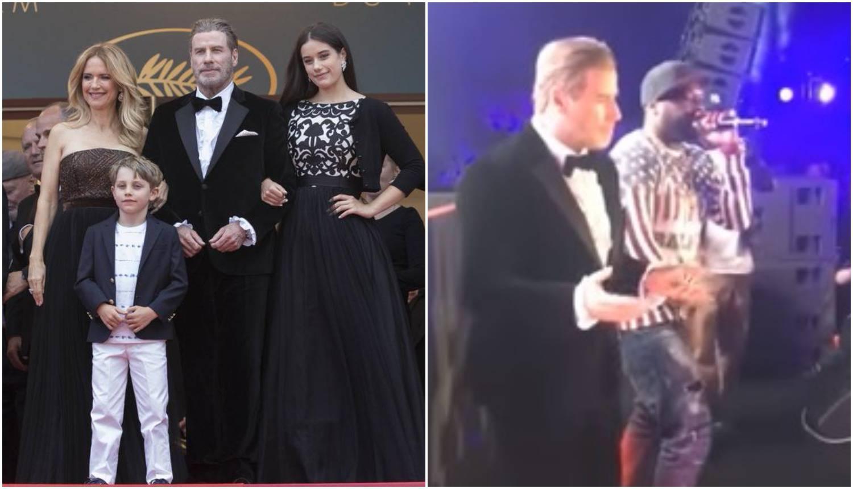 Travolta plesnim pokretima oduševio fanove u Cannesu