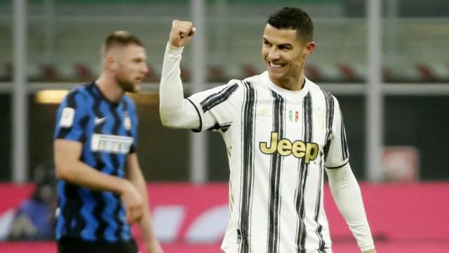 Coppa Italia – Semi Final - First Leg - Inter Milan v Juventus