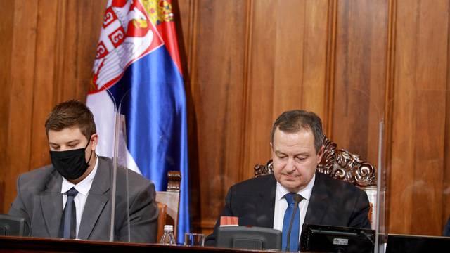 MPs elected Ivica Dacic as President of the Serbian Parliament.Narodni poslanici su izabrali Ivicu Dacica za predsednika Skupstine Srbije.