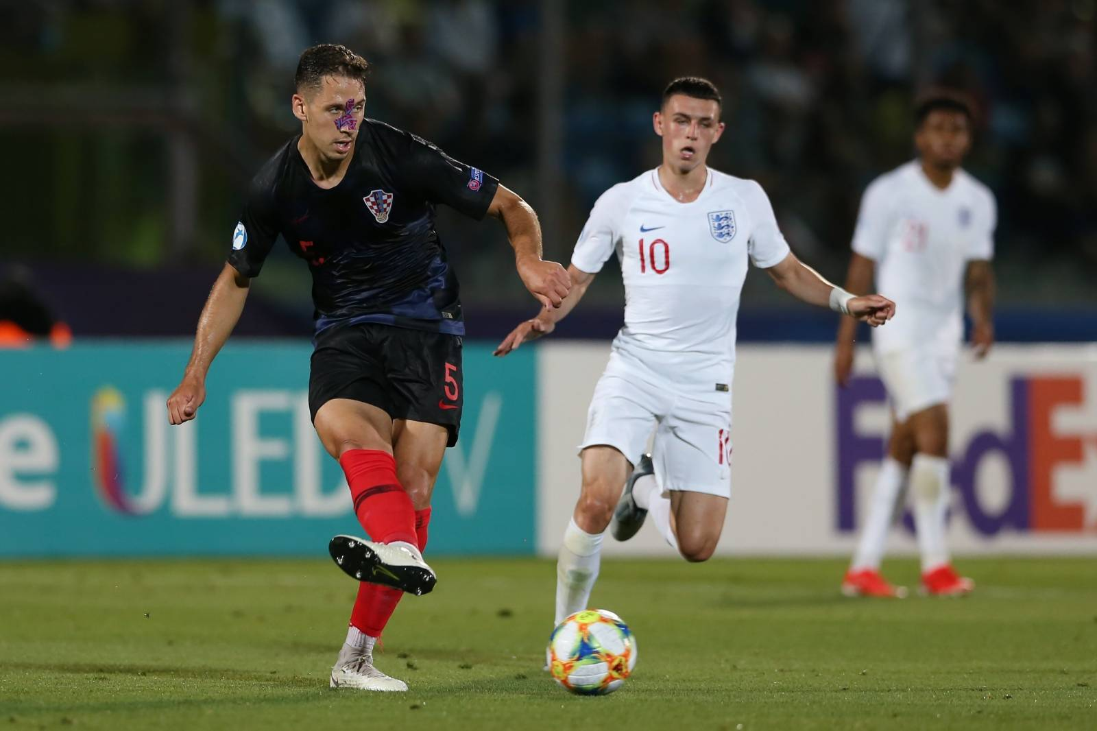 Croatia v England - 2019 UEFA European Under-21 Championship - Group C - San Marino Stadium