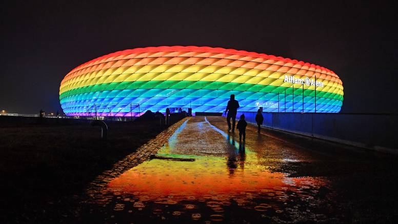 Uefa kaže 'ne može': Ipak ništa od duginih boja na Allianz Areni