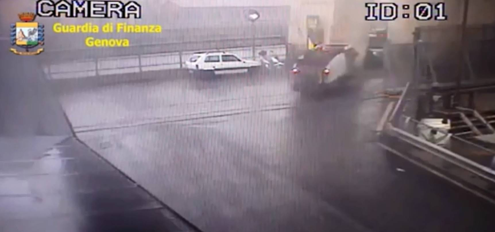 Dramatična snimka otkrila je trenutak urušavanja vijadukta