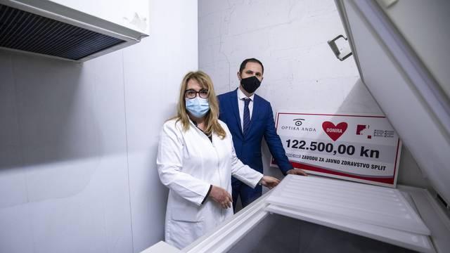 Split dobio prvu ledenicu u kojoj će se čuvati cjepivo za covid-19