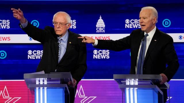 Sanders i Biden jedini mogući kandidati nakon 'superutorka'