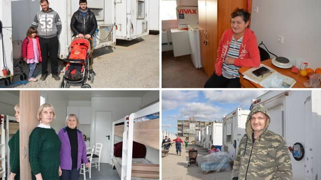 U kontejnerskom naselju živi 42 ljudi: Nije idealno, ali nitko se ne žali. To je sve što sad imaju