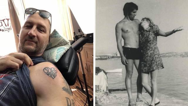 Rađa tetovirao imena punice i punca: Neka se javi tko to ima