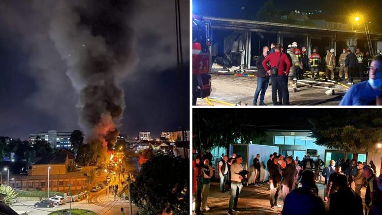 Izgorjela bolnica u Tetovu: Čak 30 ljudi poginulo je u buktinji? 'Što nas je ovo snašlo, užas...'