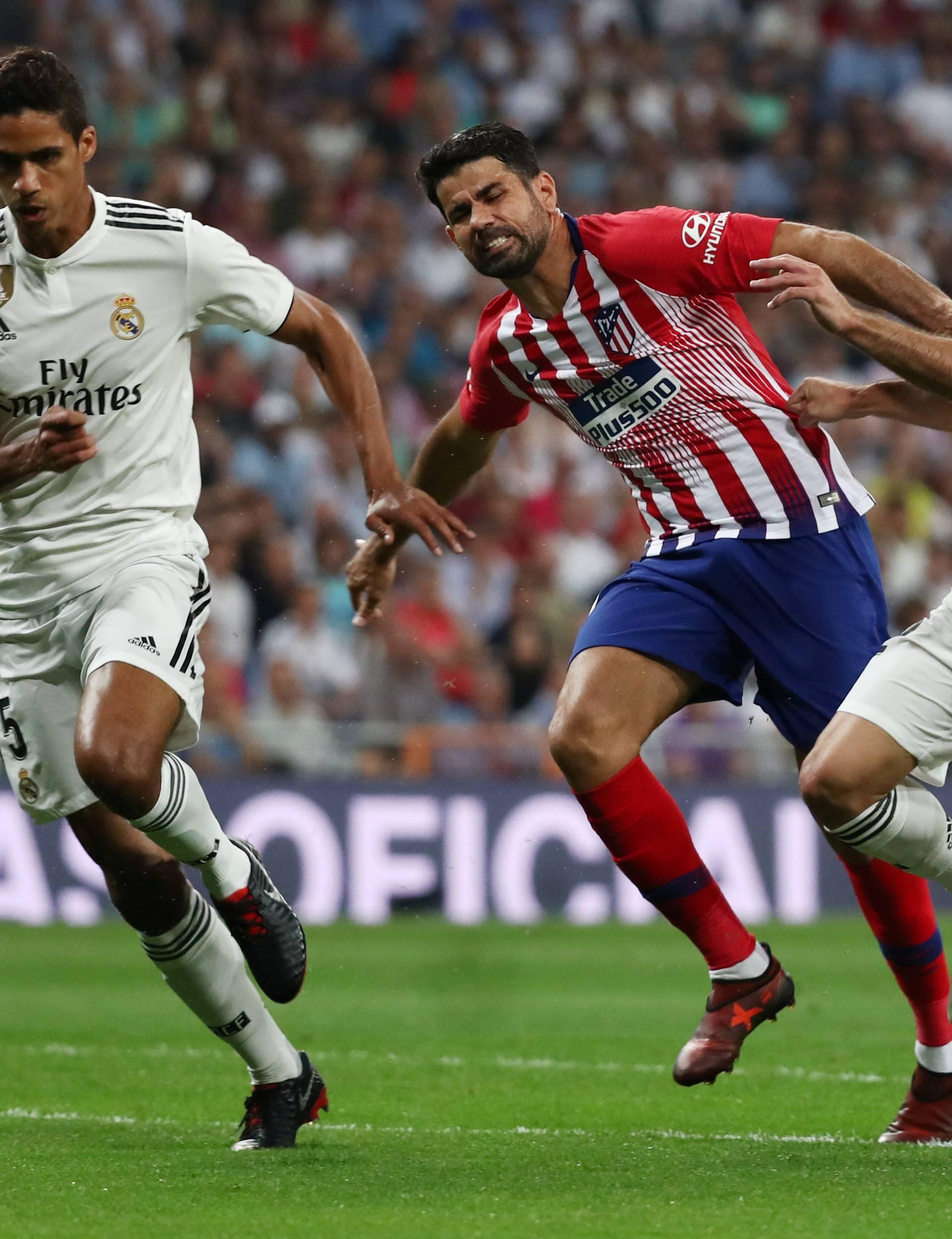 La Liga Santander - Real Madrid v Atletico Madrid