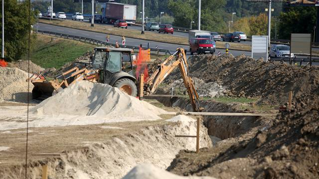 Zagreb: Pripremni radovi za rekonstrukciju rotora u Novom Zagrebu