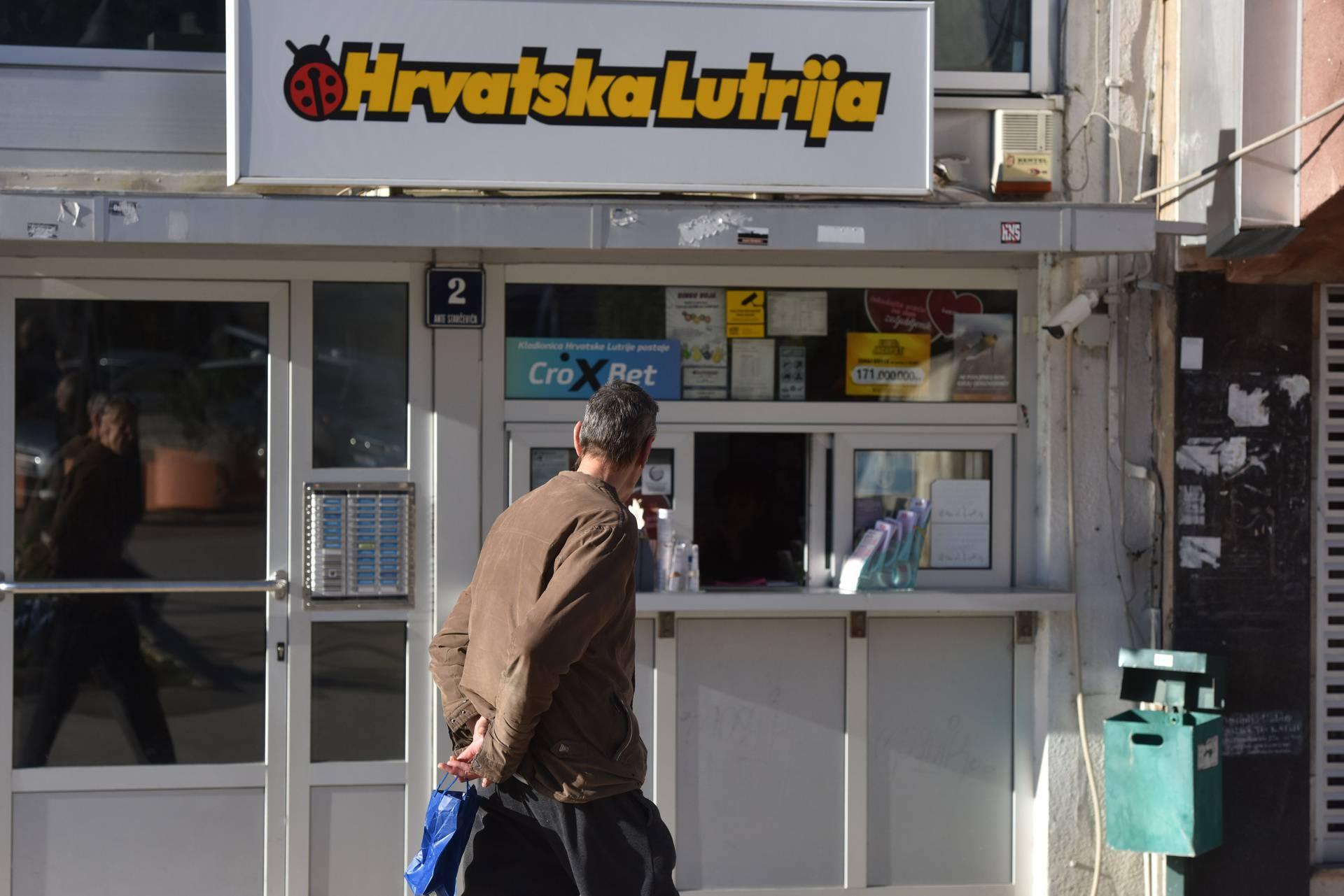 Šibenik: Prodajno mjesto Hrvatske lutrije na kojem je uplaćen dobitni listić Eurojackpota