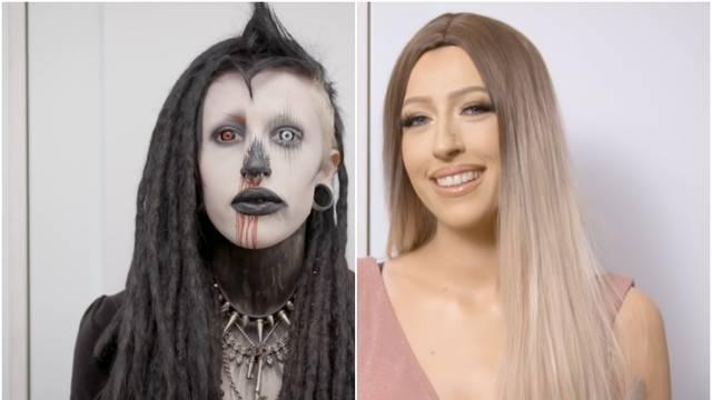 Gotičarka postala Instagram model, dečku umalo pozlilo