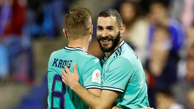 Real i bez Modrića lagano do četvrtfinala, Valencia jedva