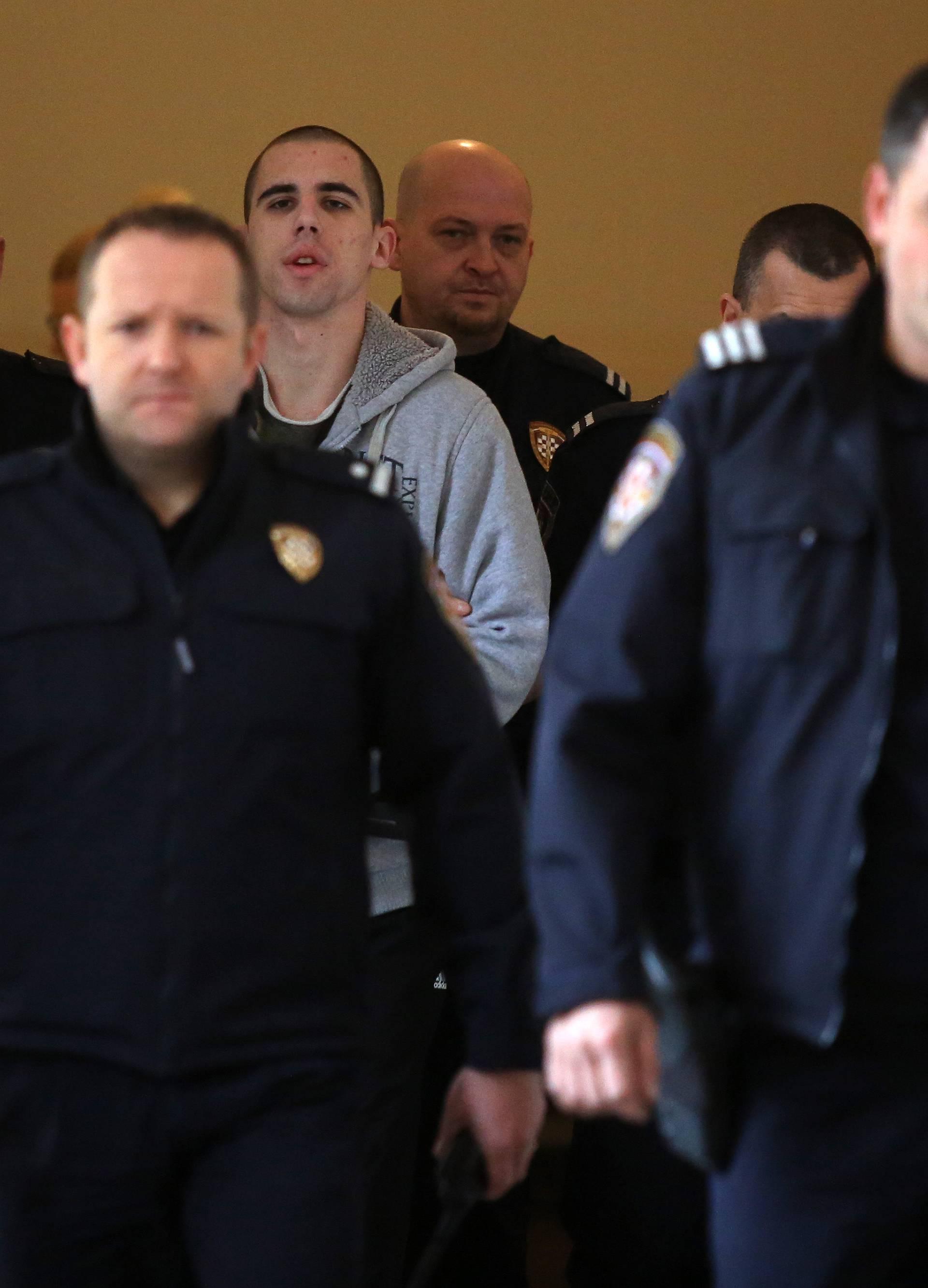Rijeka: Dino Kulišek osuđen na 38 godina zatvora
