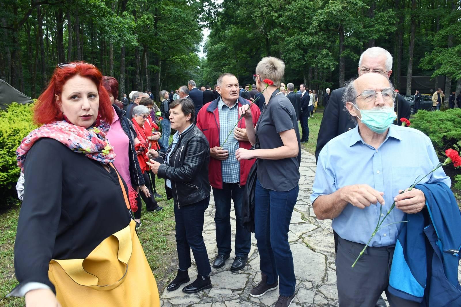 Obilježavanje Dana antifašističke borbe u Park šumi Brezovica pored Siska