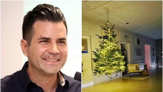 Ante Vrban pokazao luksuzan stan, ima 'leteću' jelku za Božić
