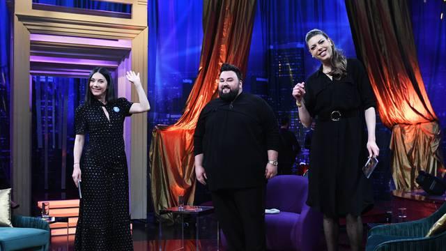 Blanka Vlašić govorit će Danieli o svojim sportskim uspjesima i plesu, a Jacques o Eurosongu...