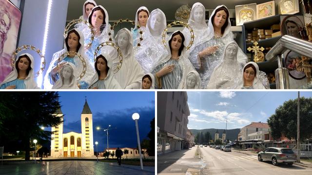 Korona pretvorila Međugorje u grad duhova: 'Katastrofa, nikad nije bilo gore, nema autobusa'