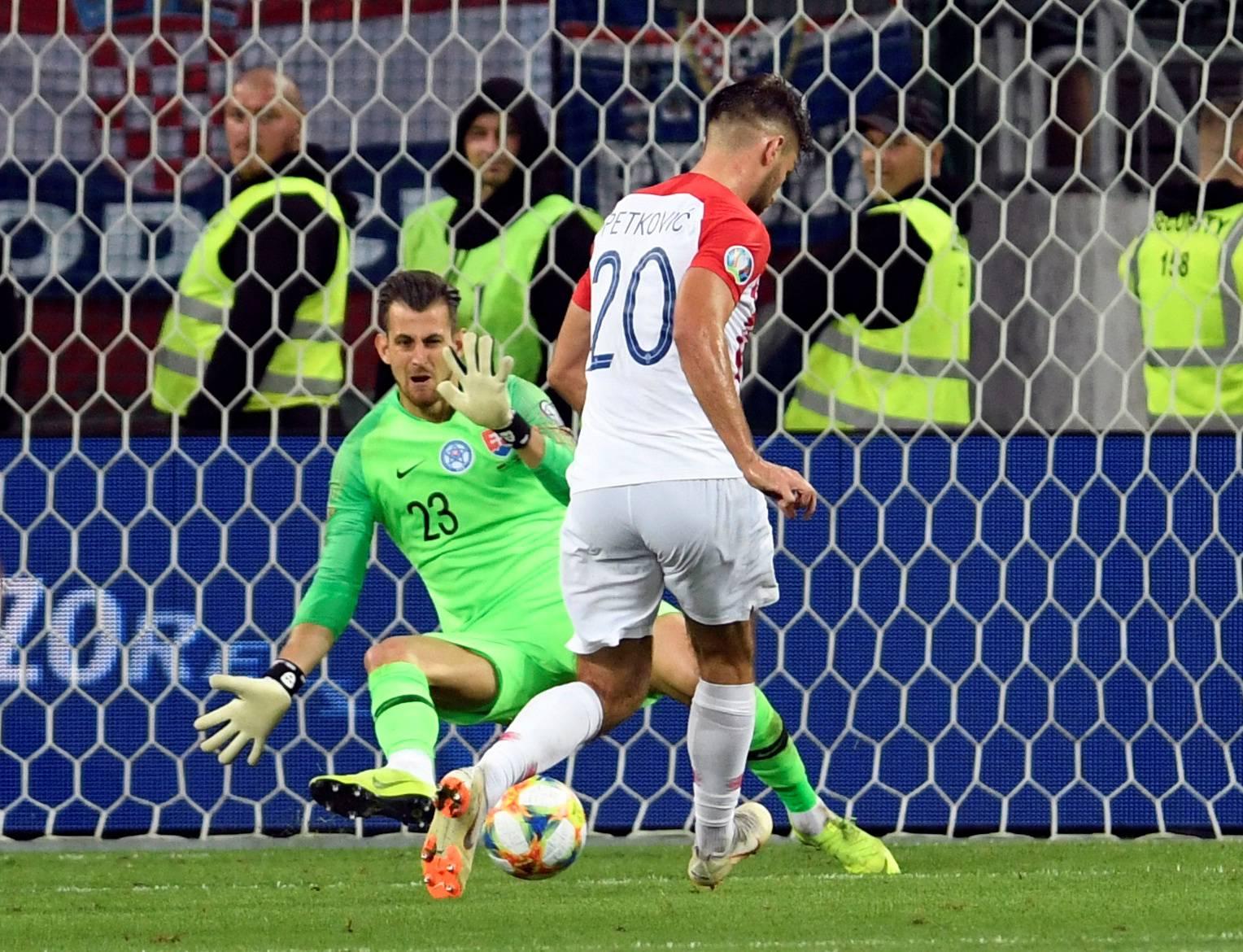 Euro 2020 Qualifier - Group E - Slovakia v Croatia