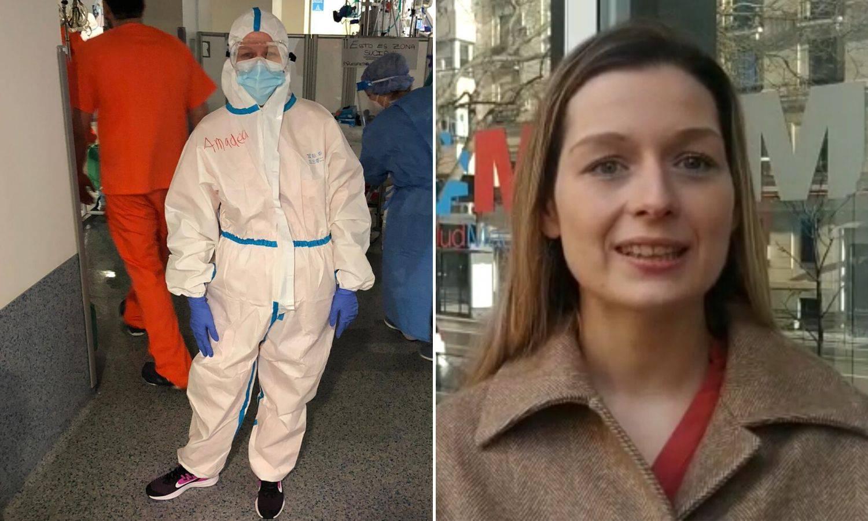 Hrvatska doktorica u Madridu: 'Plačem, umiru mi pred očima'