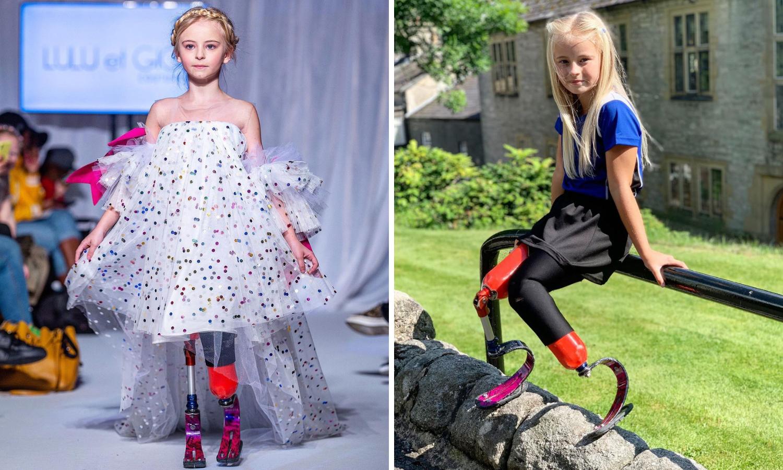 Djevojčicu bez nogu pozvali da nosi revije na Fashion Weeku