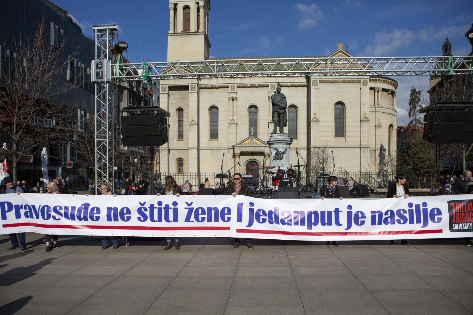 Zagreb: Međunarodna akcija Milijarda ustaje protiv nasilja nad ženama i djevojčicama