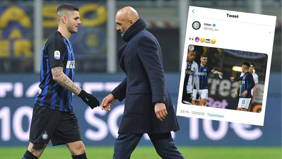Icardi poludio! Inter mu  oduzeo traku i izbacio ga iz momčadi...
