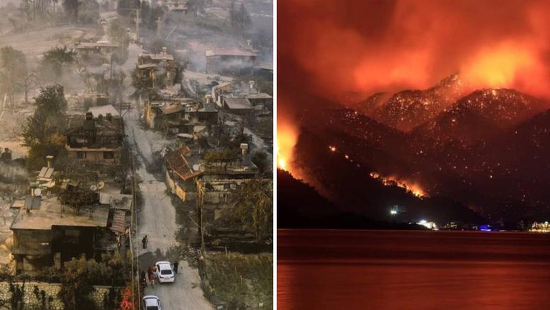 Četvero mrtvih u požarima u Turskoj, temperature i do 50 stupnjeva: 'Ovo je pakao'