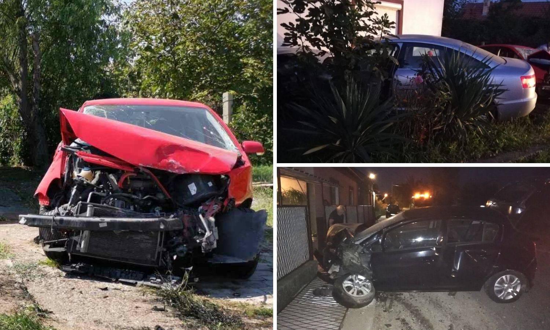 Mladić (18) pijan pokupio dva auta  pa se zabili u kuću: 'Sve se streslo, mislili smo da je potres'