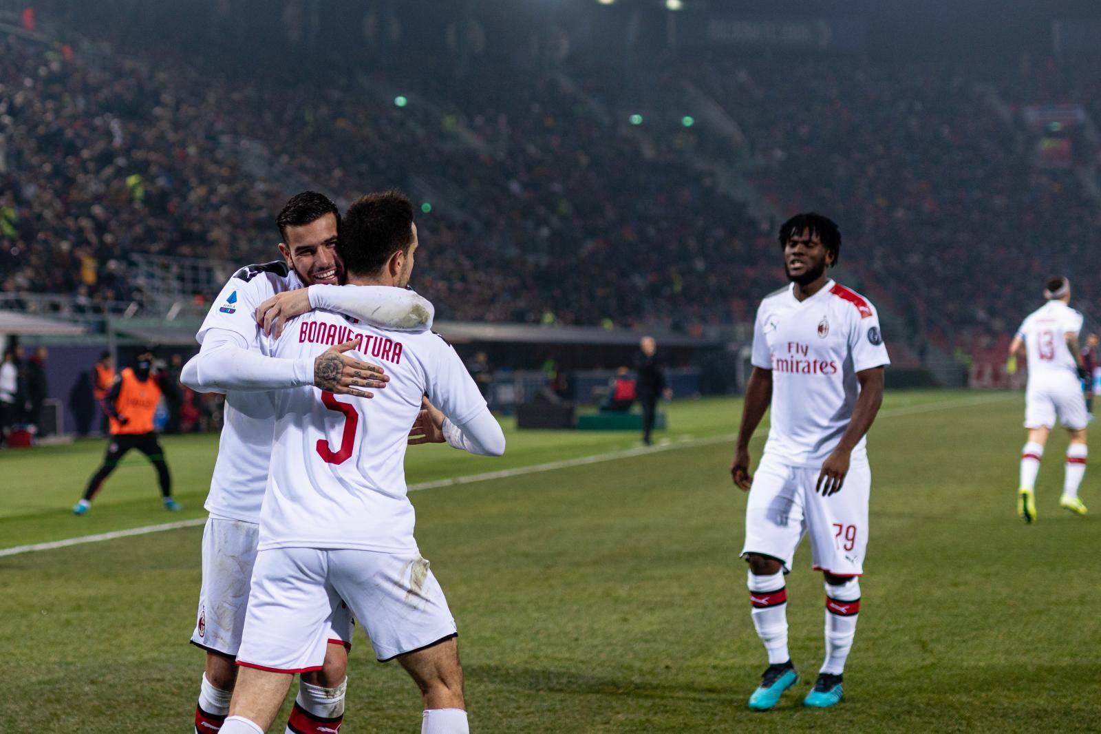 Italian Soccer Serie A Men Championship Bologna vs Milan