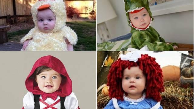 10 preslatkih kostima za bebe za maskiranje na Noć vještica