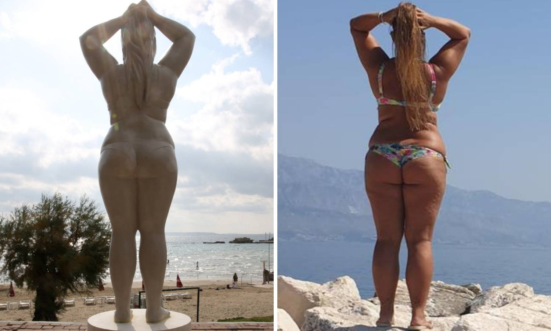 'Ja sam žena po čijem su tijelu napravili kip na Bačvicama'