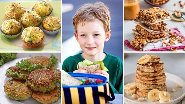 10 recepata za odlične užine: Pripremite svojim školarcima zdravi i fini obrok za školu