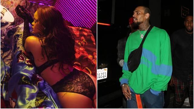 Rihanna pokazala pozadinu, a Chris joj udijelio komplimente
