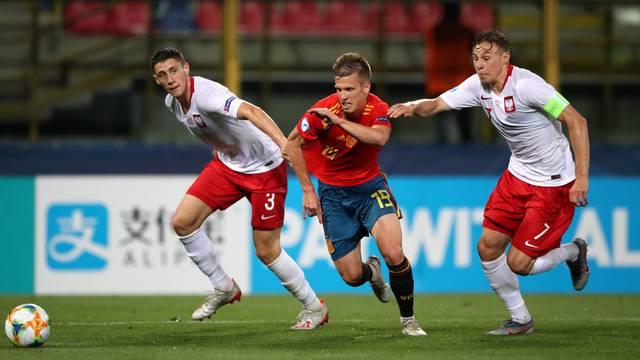 Spain U21 v Poland U21 - UEFA European Under-21 Championship - Group A - Stadio Renato Dall'Ara