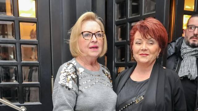 Prijateljice u izlasku: Gabi i Zdenka na svečanoj premijeri