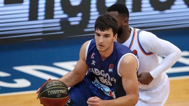 Zagreb: ABA liga, 18. kolo, KK Cibona - KK Mornar Bar
