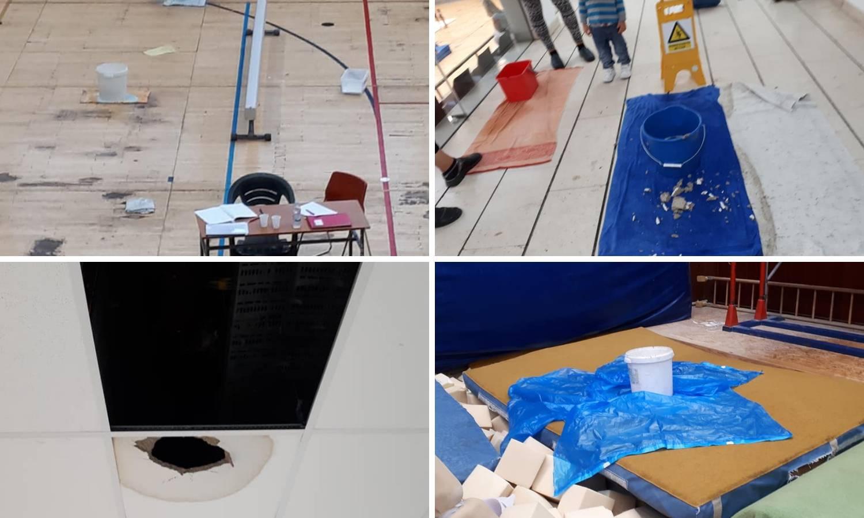 Sramota u Splitu: Gimnastičari treniraju u uništenoj dvorani...