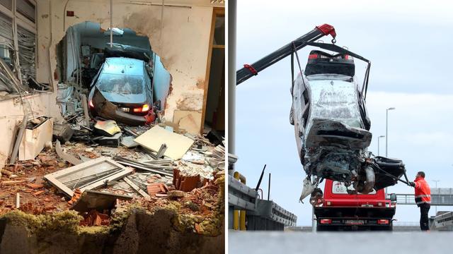 Vatrogasci: 'Scena je bila stravična. Vozač je probio dva zida i zaustavio se na trećem'