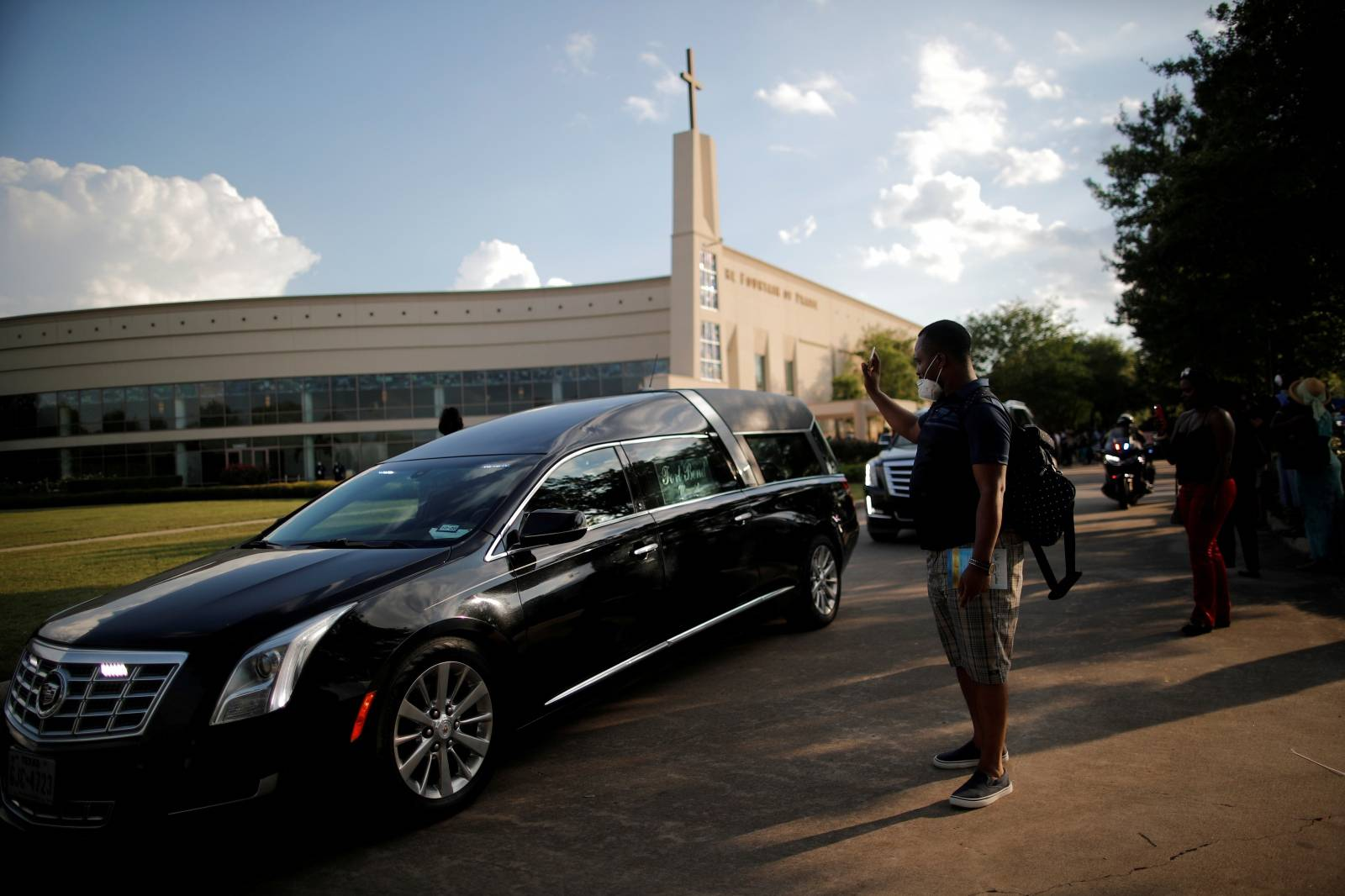 Public viewing for George Floyd in Houston