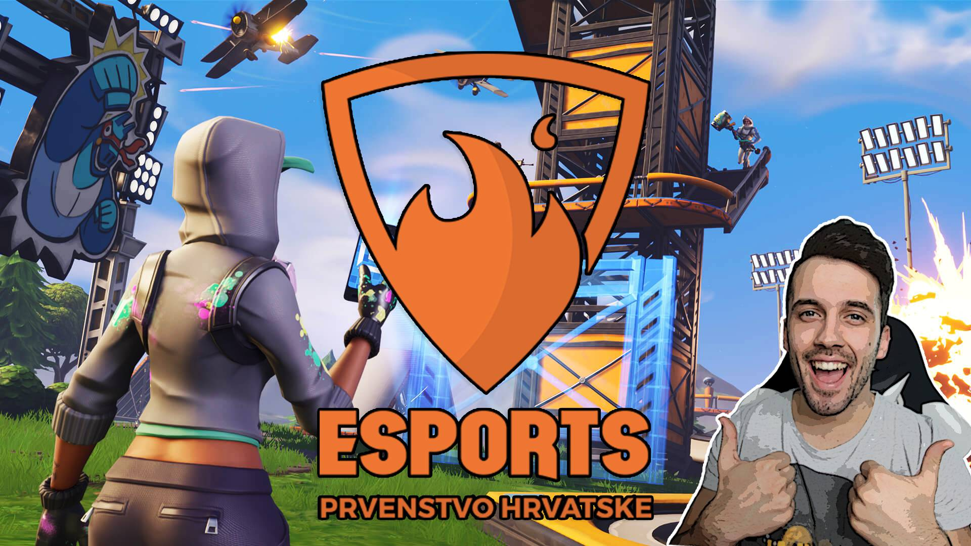 Archer7 komentira Fortnite na Esports Prvenstvu Hrvatske!