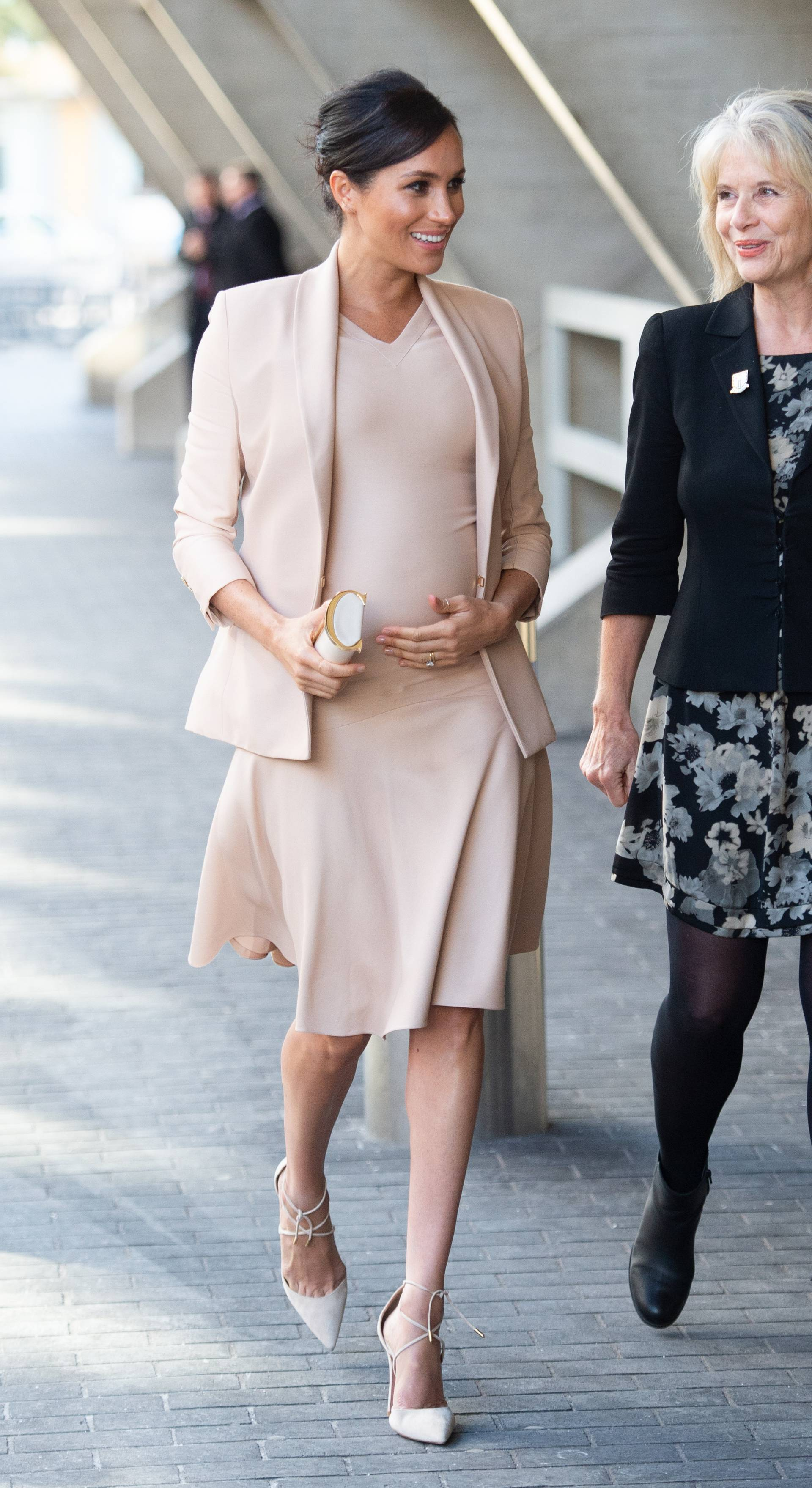 Duchess of Sussex at the National Theatre