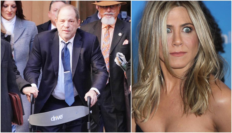 Weinstein je htio ubiti Jennifer Aniston: 'Gori u paklu, Harvey'