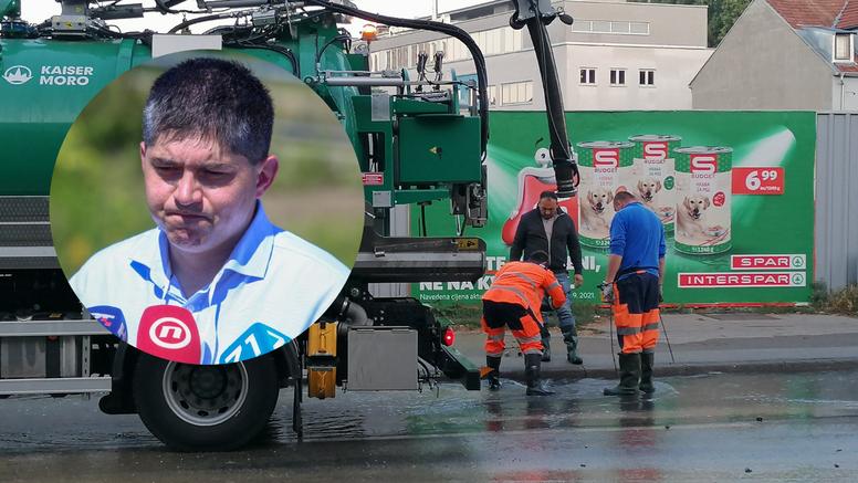 Šef Vodoopskrbe o poplavi na Selskoj: Možda smo bili zločesti pa nas zato Bog kažnjava